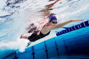 Chica nadadora